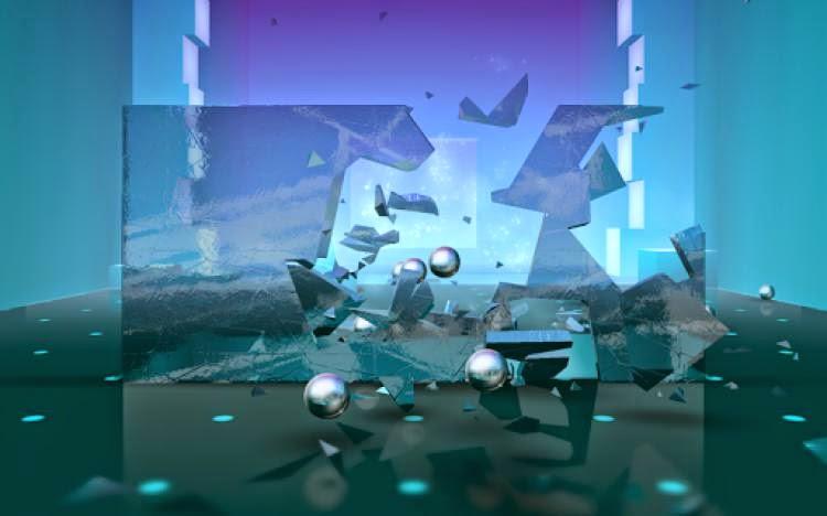 Smash Hit لعبة تكسير الزجاج بالكرة للاندرويد