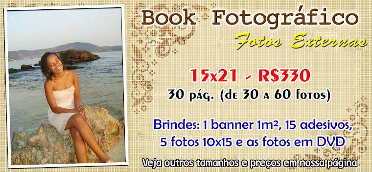 Book e Ensaio Fotográfico