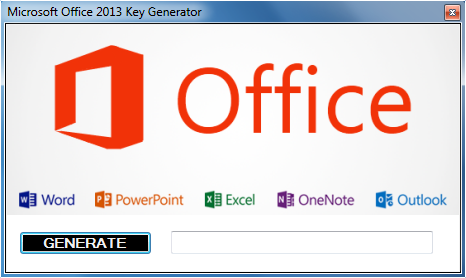 crack keys for microsoft office 2013