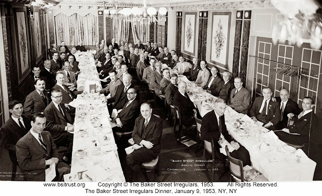 The 1953 BSI Dinner group photo