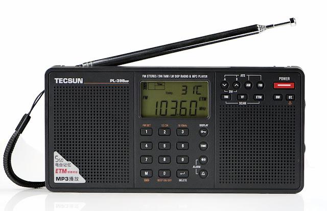 Радиоприемник Tecsun PL-398MP очень компактный, размером чуть больше ладони - его легко носить при себе, взять на отдых и в туристический поход - специальная цена!