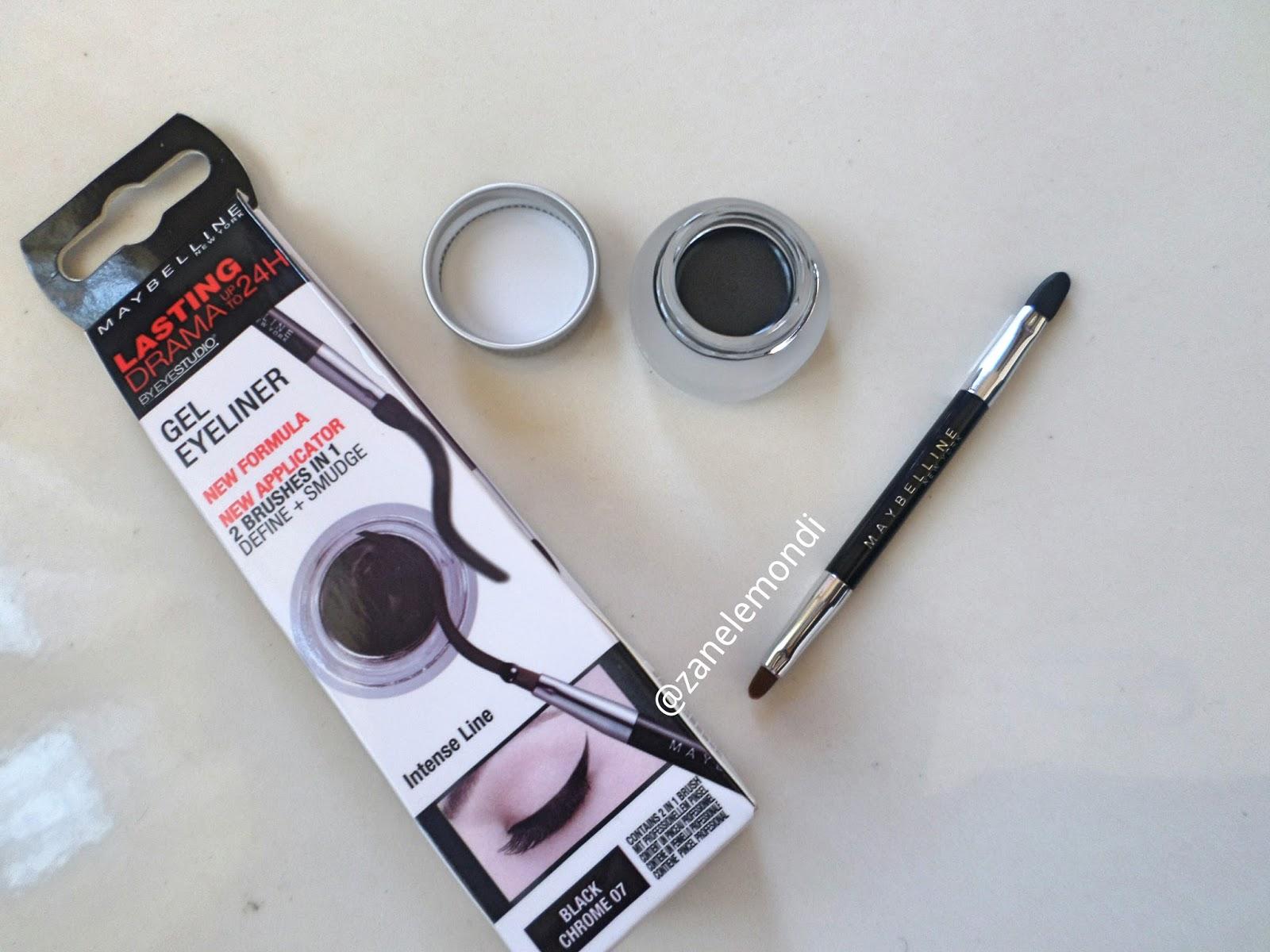 review maybelline eye studio lasting drama gel eyeliner