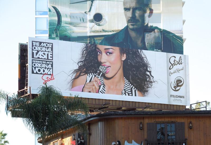 Stoli Chocolat Kokonut Vodka billboard