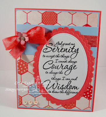 Our Daily Bread Designs, Serenity Prayer