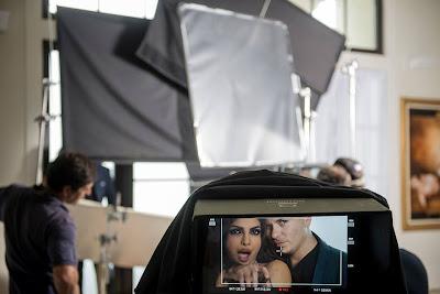 "Priyanka's Hot shoots ""Exotic"" clip with Pitt Bull"