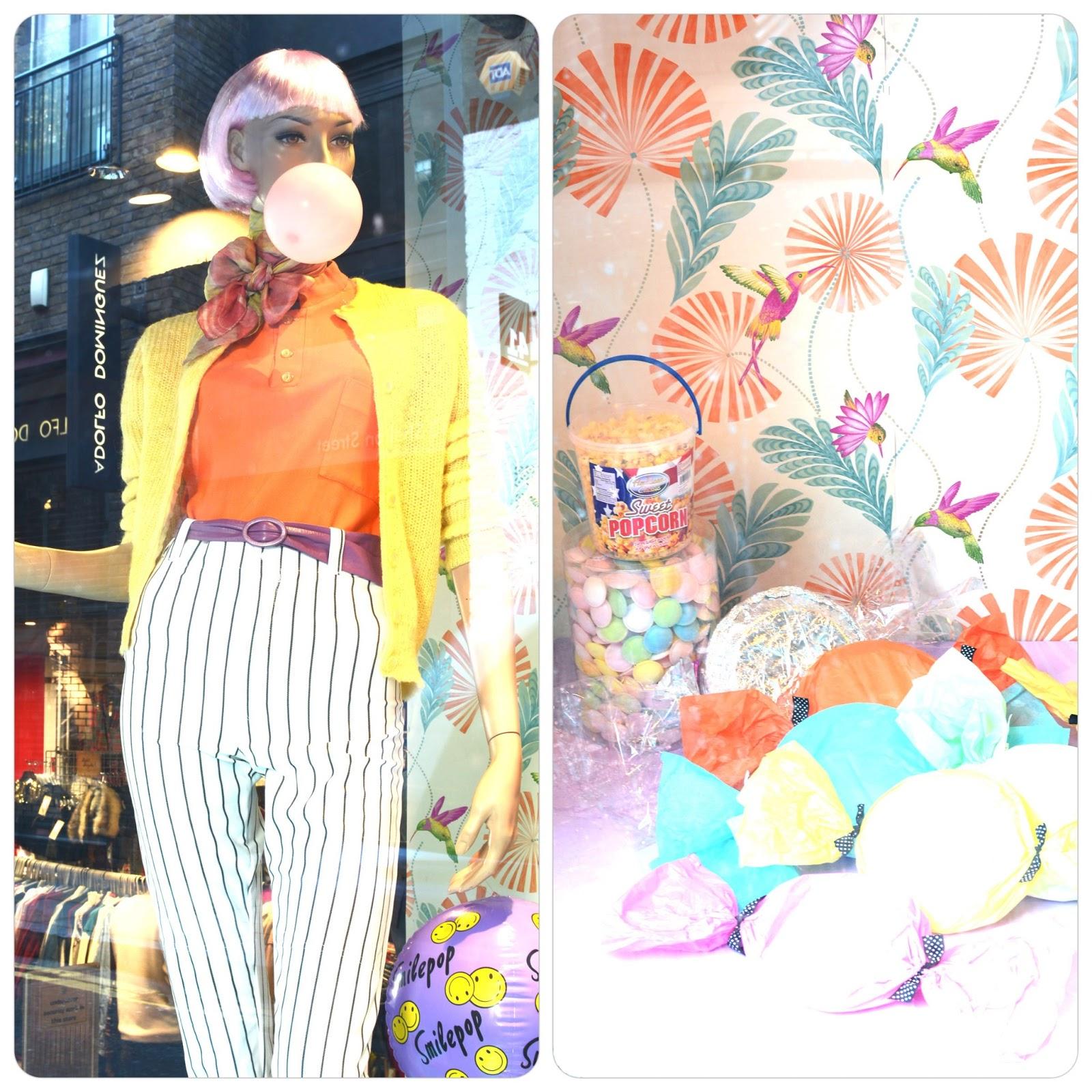 covent garden candyland rokit vintage clothing