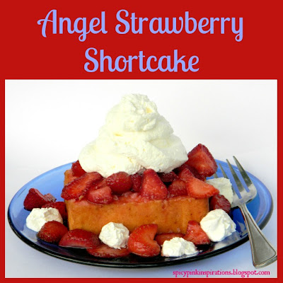 angel strawberry shortcake by spicypinkinspirations.blogspot.com