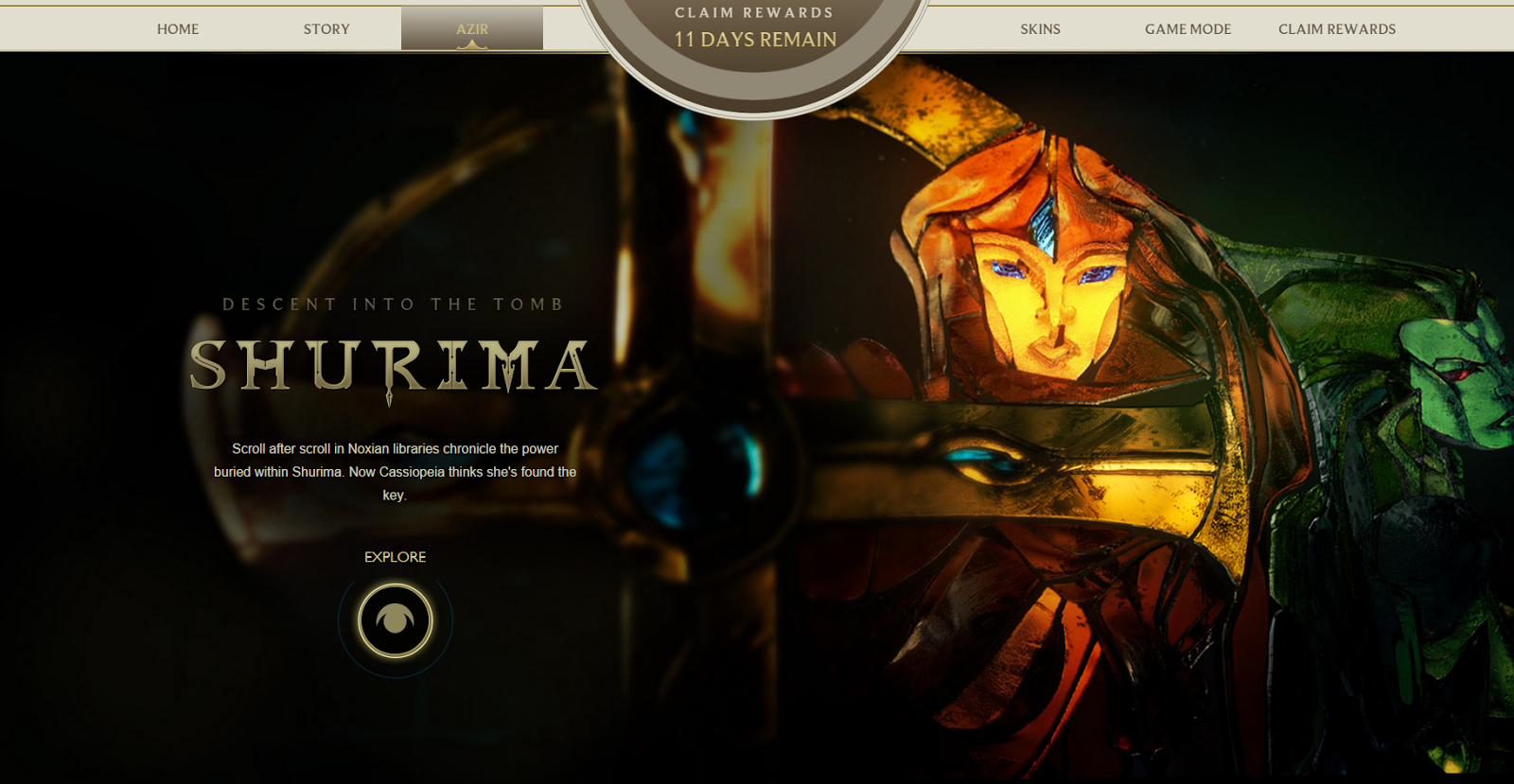 Shurima descent into the tomb latino dating 2