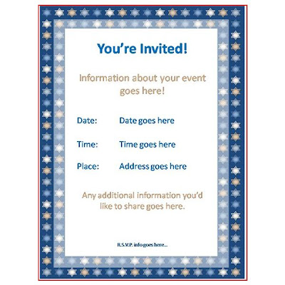 this is a simple parents day invitation template that you can use to invite people to