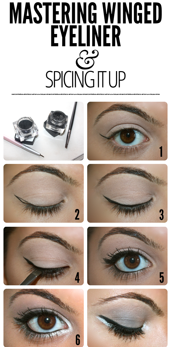 MASTERING Winged Eyeliner & Spicing It Up
