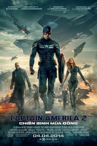 Phim Chiến Binh Mùa Đông | Captain America 2