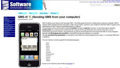 SMS-it, Instan Messaging