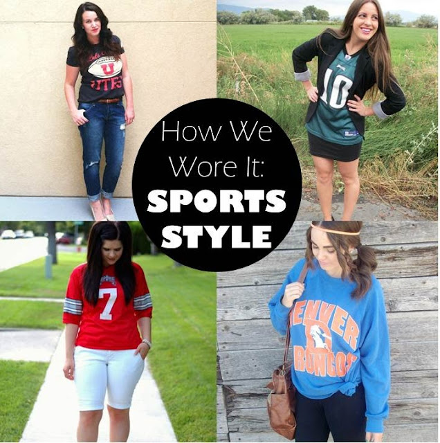how we wore it: sports style
