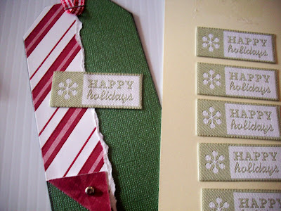 Happy+Holidays DIY Christmas Gift Tags Tutorial