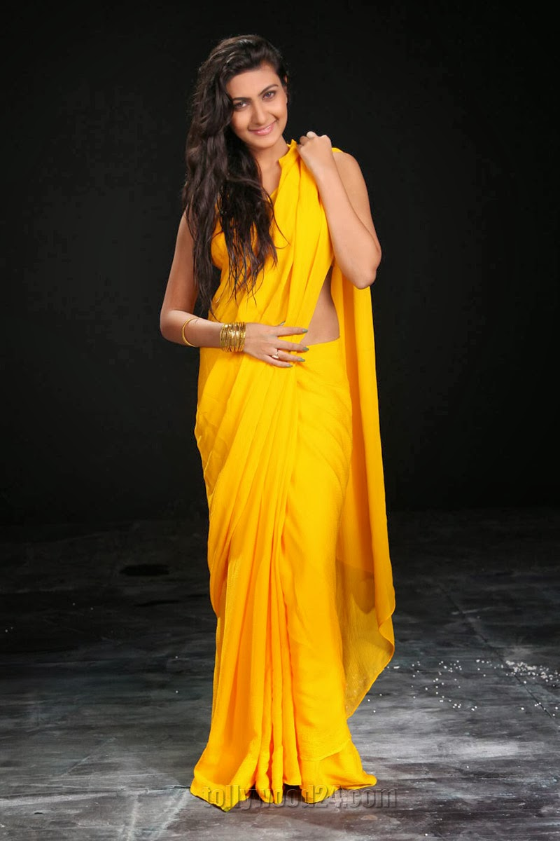 Neelam Upadhyay photos in Yellow saree from Action-HQ-Photo-8
