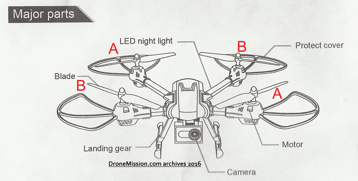 Drones  Kaideng K70c Sky Warrior Quadcopter
