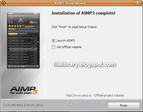 Aimp 3 00 beta 3 build 900