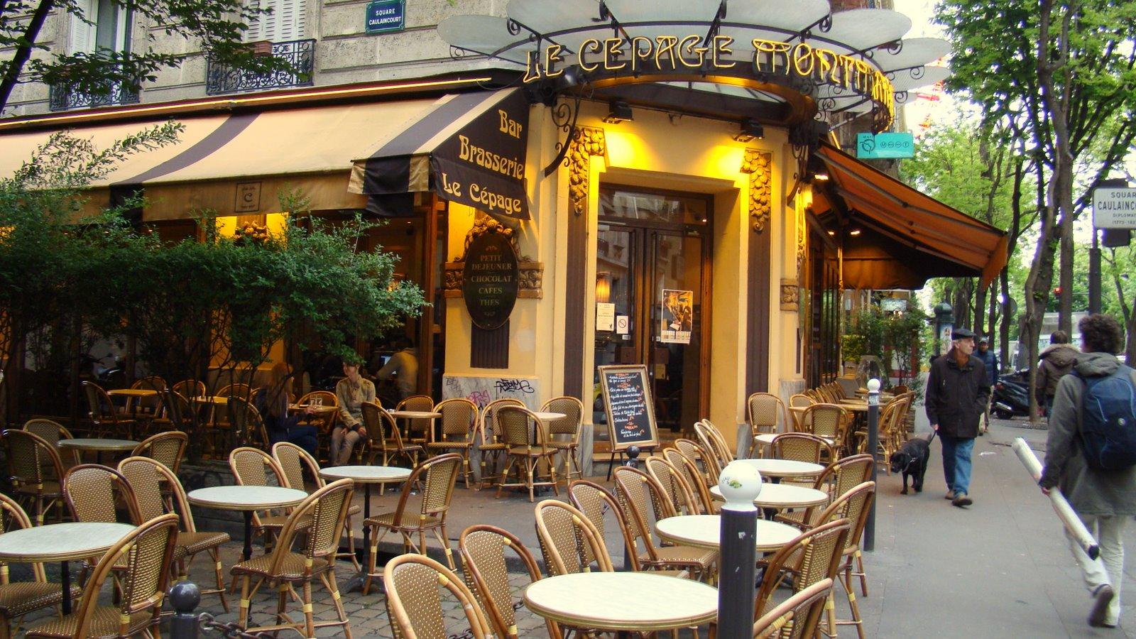 Dejar huella paris francia for Restaurantes franceses