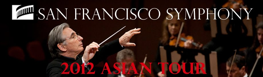 San Francisco Symphony 2012 Asian Tour