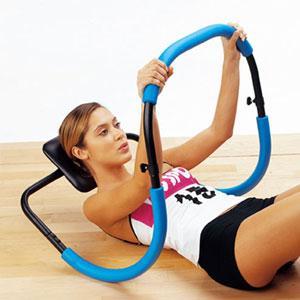 En forma abdominales fuertes en balanc n - Maquina para hacer abdominales en casa ...
