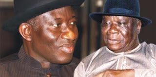 Goodluck Jonathan and Edwin Clark