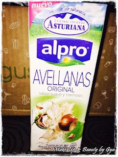 Alpro avellanas Asturiana Degustabox julio 2015