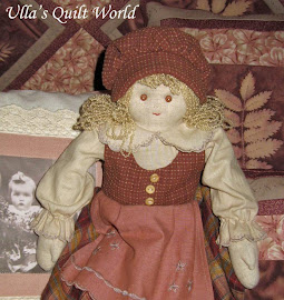 Quilted doll, pattern