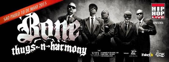 Confirmado show do Bone Thugs N Harmony em São Paulo
