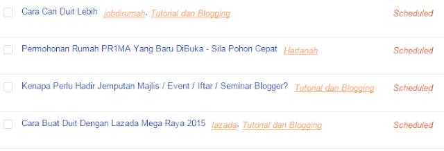 Cara Saya Uruskan Masa Menulis Blog