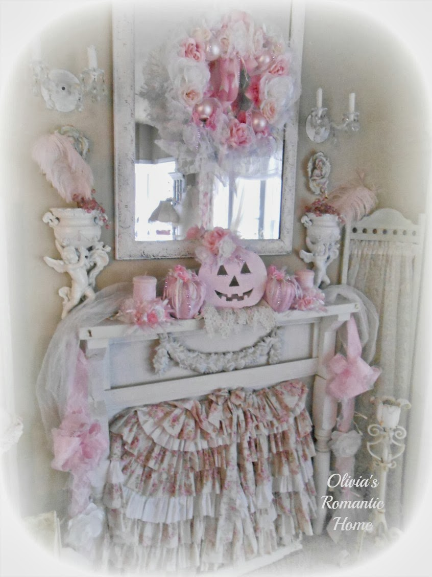 olivia 39 s romantic home shabby chic pink pumpkin fall. Black Bedroom Furniture Sets. Home Design Ideas