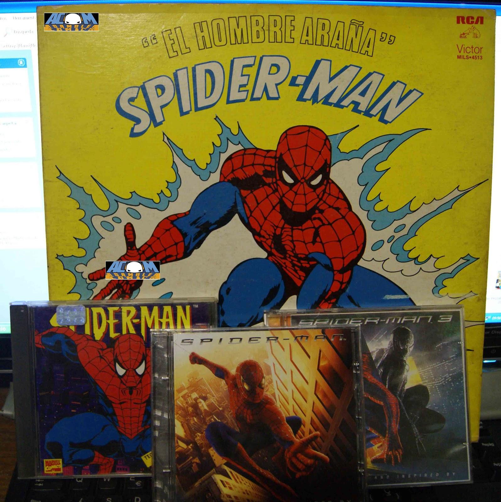 Asamblea Comics: La Música de Spider-Man, El Hombre Araña