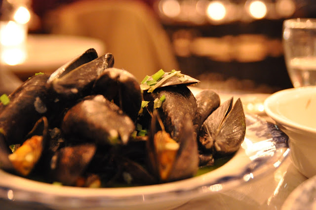 The Quality Chop+House review Farringdon Road Cornish Mussels