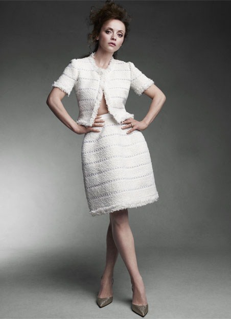 Christina Ricci For Net   A   Porter / July Issue 2013