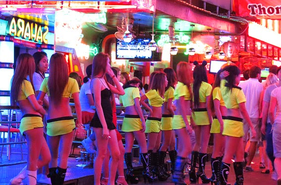Pretty young and sexy at Soi Cowboy