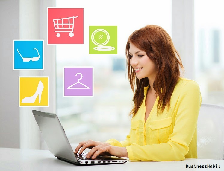 How to get online buyer business habit for Online shopping for the home