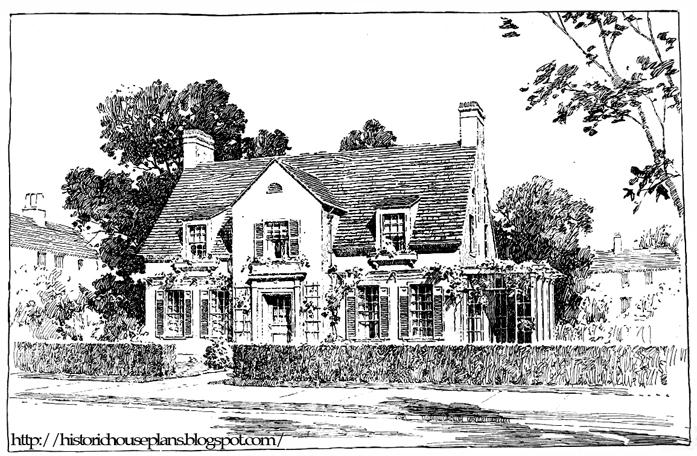 The Daniel Neilinger House 1917 Historic House Plans