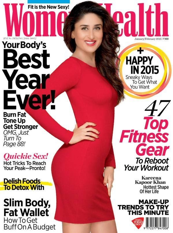 Kareena Kapoor on Cover Page of Women Health Magazine