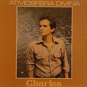 "Capa do  LP ""Atmosfera Divina"" do cantor Charles Meira"