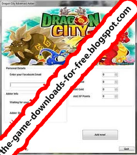 Dragon City Hack Cheat Tool Free Download