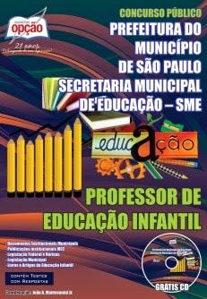 Apostila <b>Concurso</b> Prefeitura de <b>São Paulo</b> (SME) Professor de <b>...</b> 2014