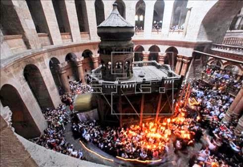 Israel impede acesso de cristãos palestinos ao Santo Sepulcro