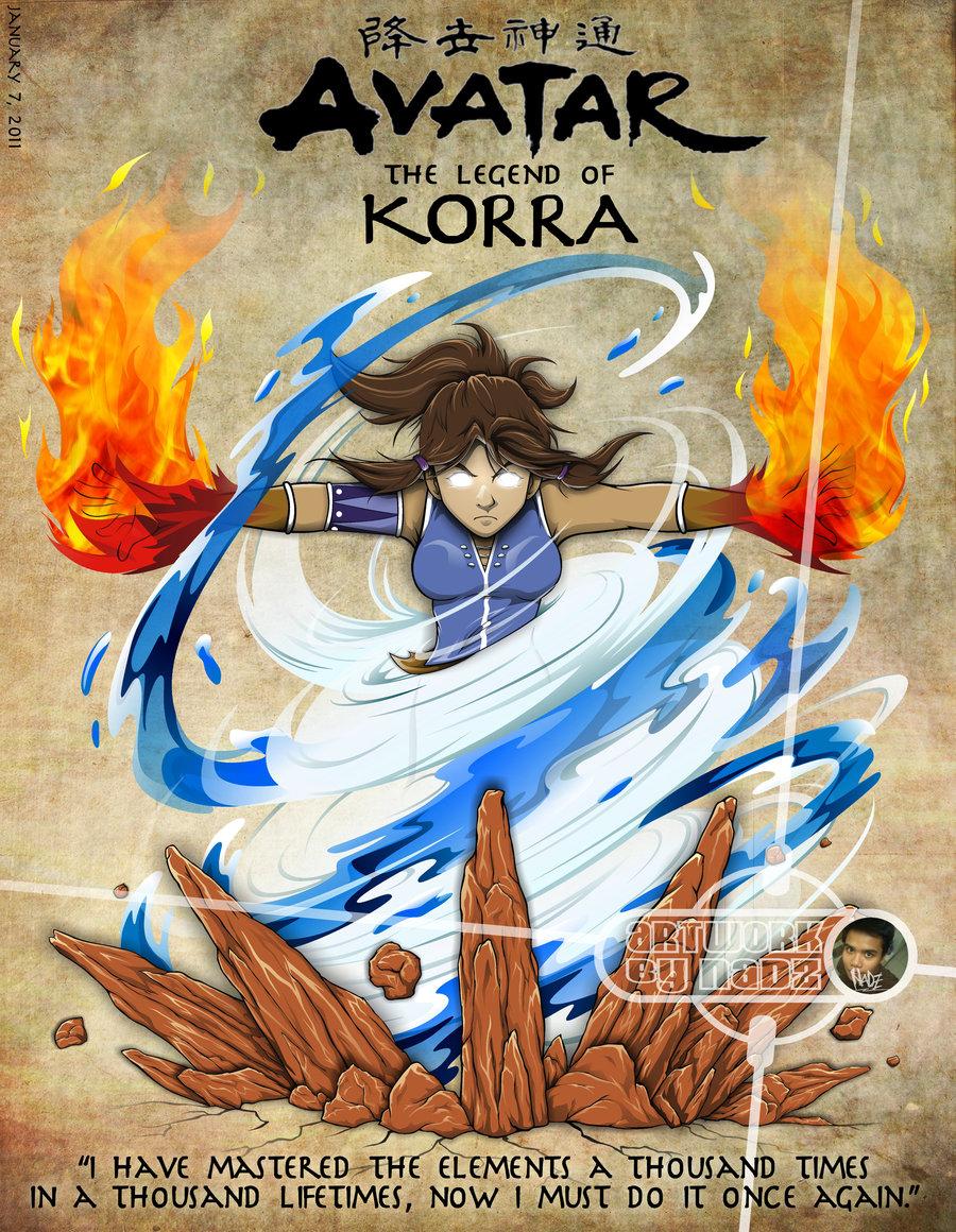Avatar a lenda de Korra - 1ª Temporada Dublado Completo