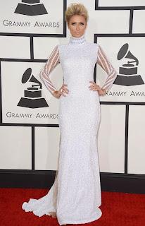 Парис Хилтън с най-впечатляващата рокля на Грами 2014