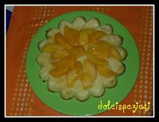 torta di cous cous alle pesche