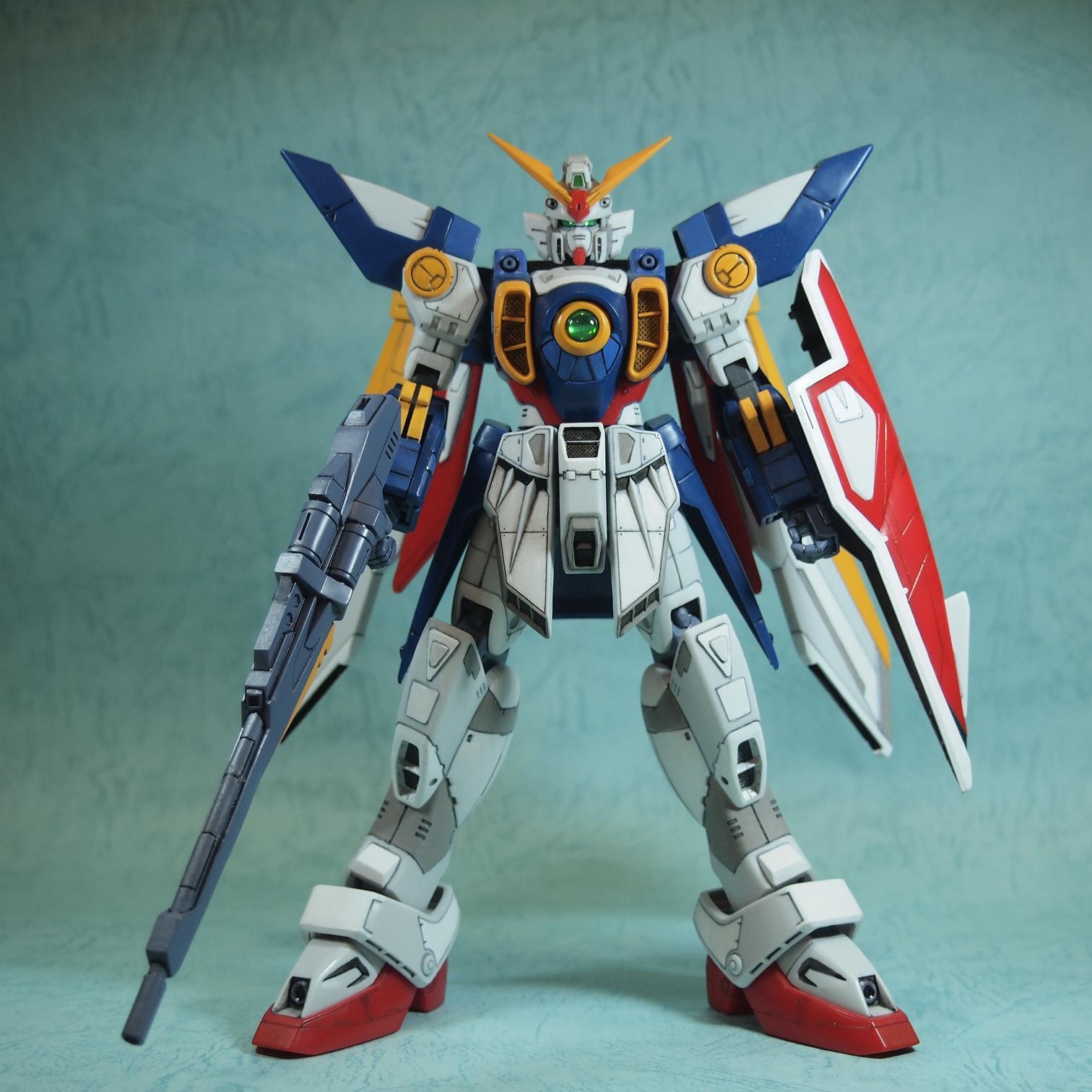 Gundam Guy Hg 1 100 Xxxg 01w Wing Gundam Customized Build