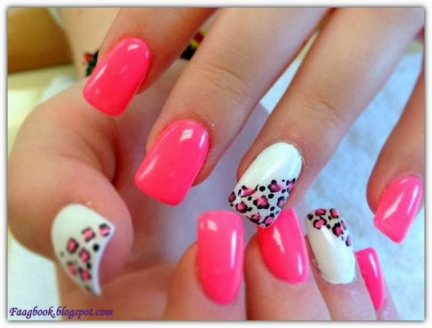 Pink Nail Art and Designs.  FAAGBOOK