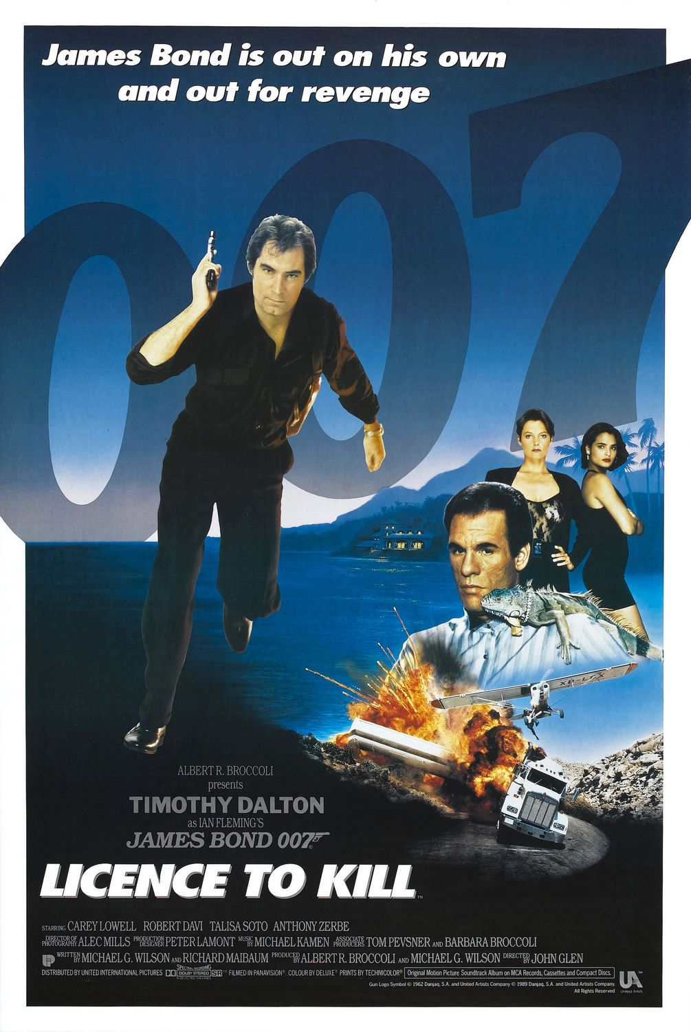 license to kill Licence to kill is probably the only james bond film that doesn't have all the elaborate sets and incredible action sequences, other than the explosive ending.