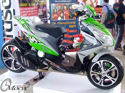 Modifikasi Yamaha Xeon 125 (Xeon GT)