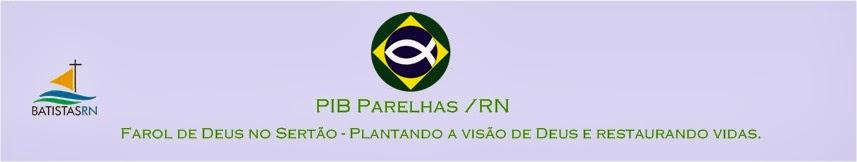 PIB Parelhas  /RN