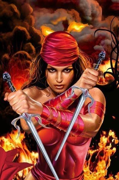 Elektra Cover Greg Horn